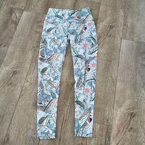 Victoria's Secret Sport Floral leggings size S